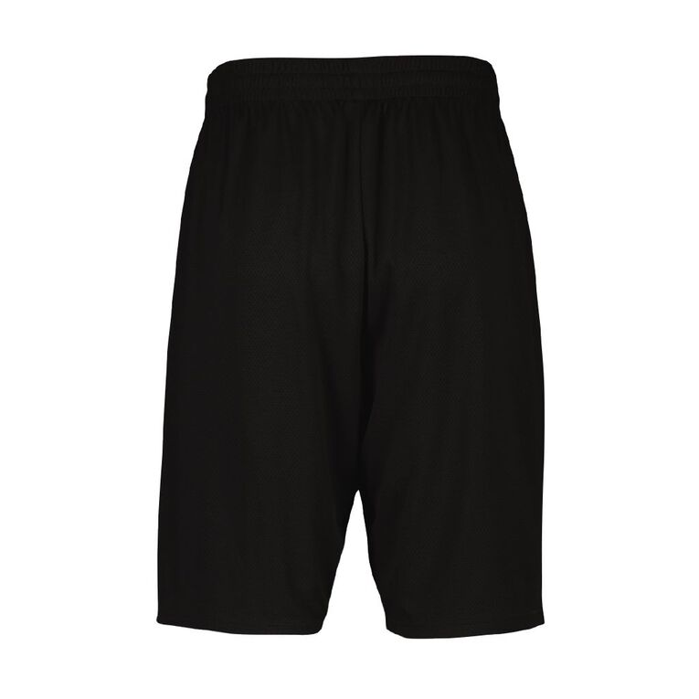 Active Intent Men's Basketball Shorts, Black, hi-res