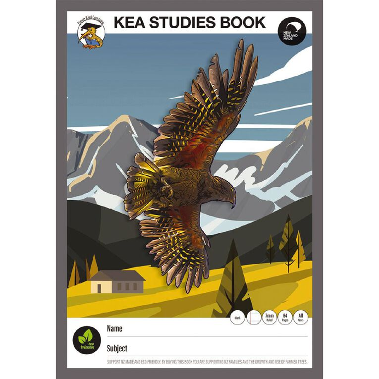 Clever Kiwi Kea Studies Book Multi-Coloured, , hi-res