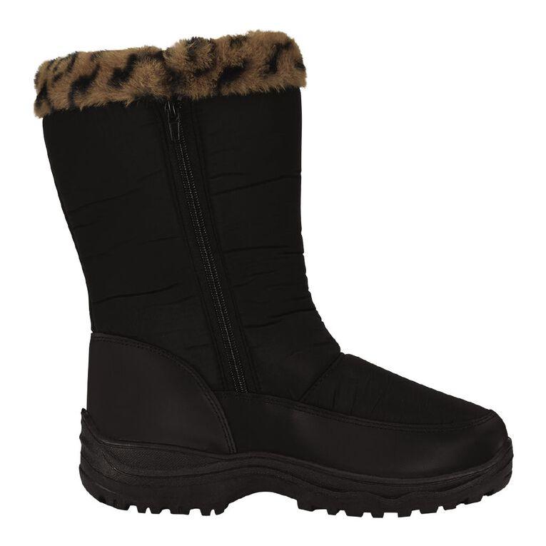 Active Intent Slope Snow Boots, Black, hi-res