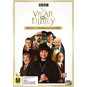 Vicar Of Dibley Season 1 - 3 DVD 3Disc