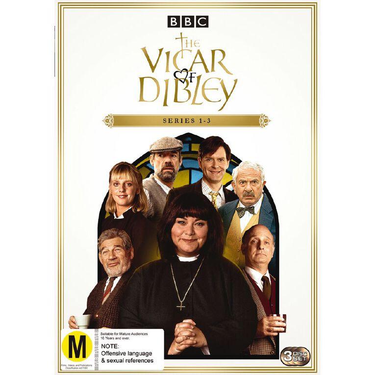 Vicar Of Dibley Season 1 - 3 DVD 3Disc, , hi-res
