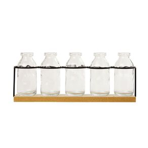 Living & Co Propagation Tube Vase Set Natural