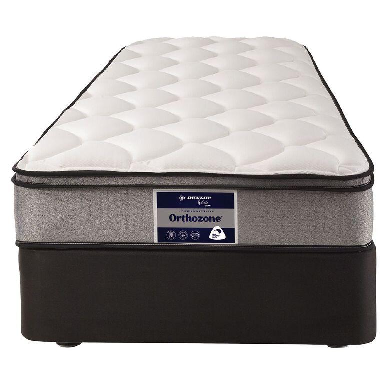 Dunlop Living Orthozone High Profile Base + Mattress Single, , hi-res