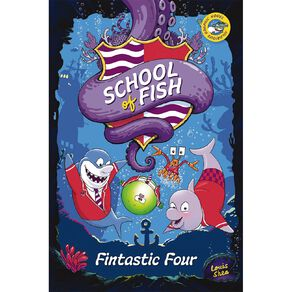 School of Fish #1 Fintastic Four by Louis Shea