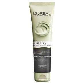 L'Oreal Paris Pure Clay Detoxifying Gel Wash 150ml