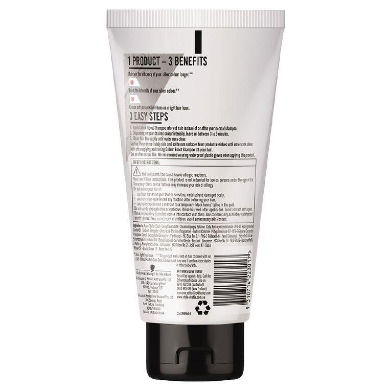Schwarzkopf Live Colour Colour Boost Shampoo Silver 150ml, , hi-res