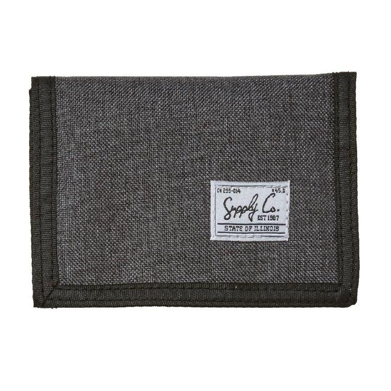 H&H Wallet, Charcoal/Marle, hi-res