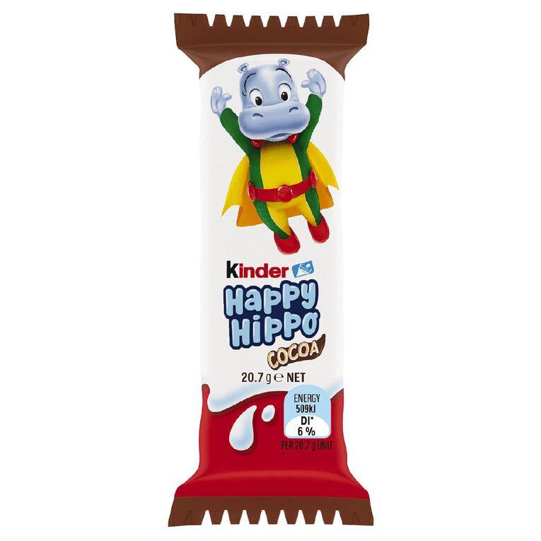 Kinder Happy Hippo Cocoa 21g, , hi-res