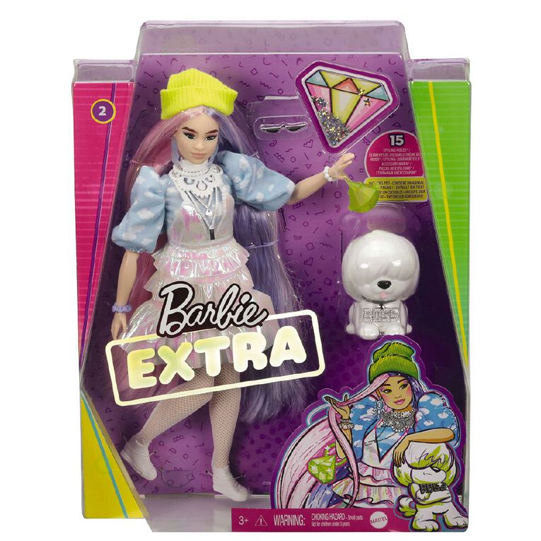 Barbie Extra Fashion Doll Assorted, , hi-res