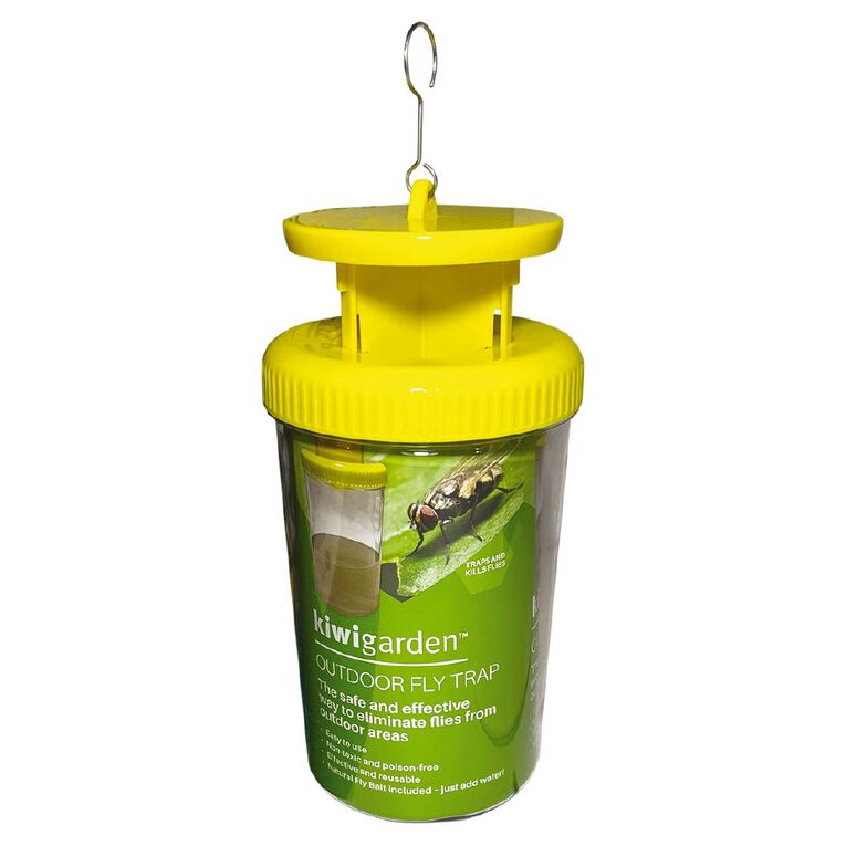 Kiwi Garden Outdoor Fly Trap Bottle 1 Pack, , hi-res