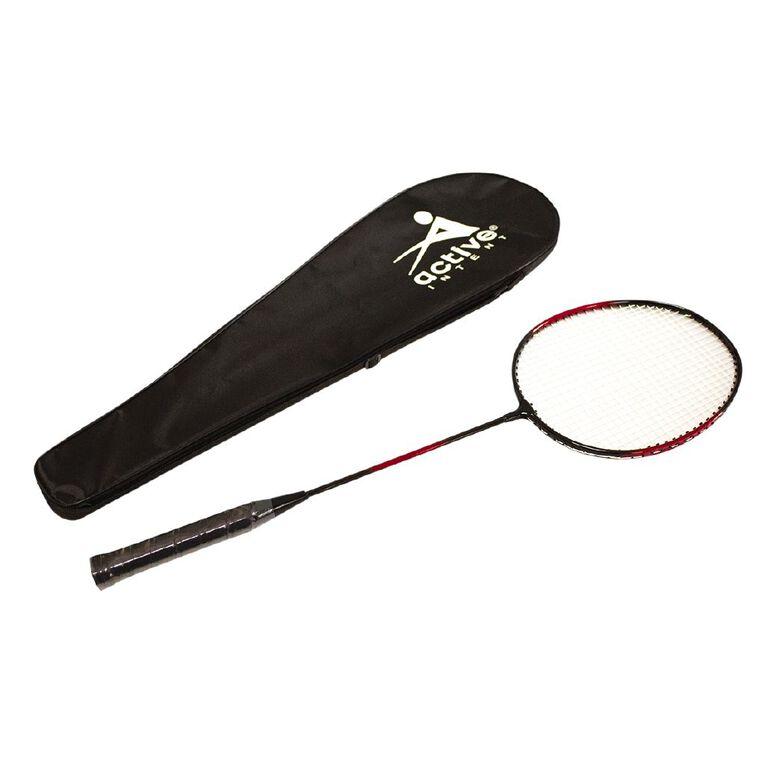 Active Intent Aluminium Badminton Racket, , hi-res