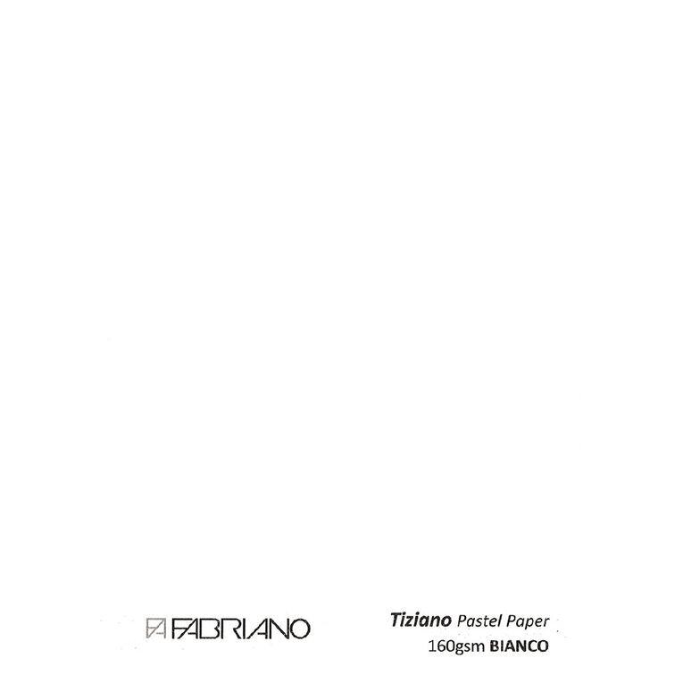 Fabriano Tiziano Pastel Paper 50cm x 65cm White, , hi-res
