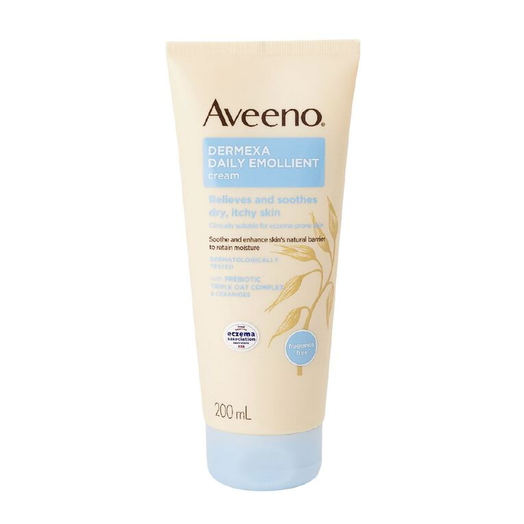 Aveeno Dermexa Daily Emollient Cream 200ml, , hi-res