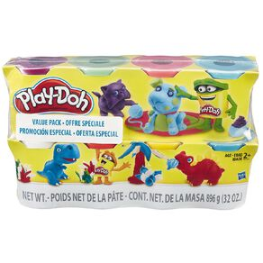 Play-Doh 4oz Cans 8 Pack Exclusive