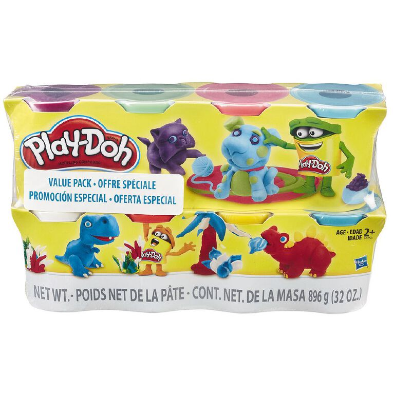 Play-Doh 4oz Cans 8 Pack Exclusive, , hi-res