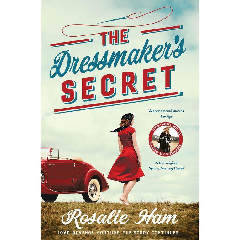 The Dressmaker's Secret by Rosalie Ham, , hi-res