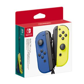 Nintendo Switch Controller Set Blue/Neon Yellow