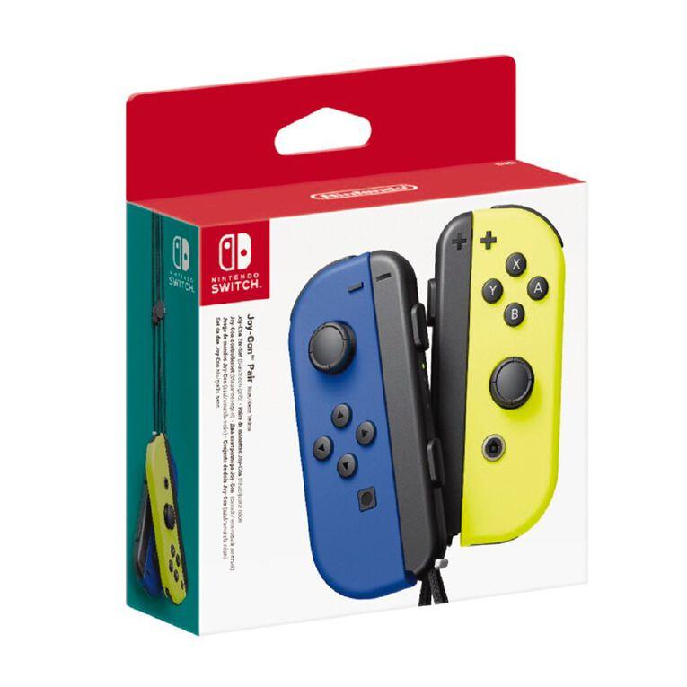Nintendo Switch Controller Set Blue/Neon Yellow, , hi-res