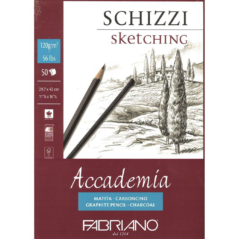Fabriano Accademia 120gsm A3, , hi-res