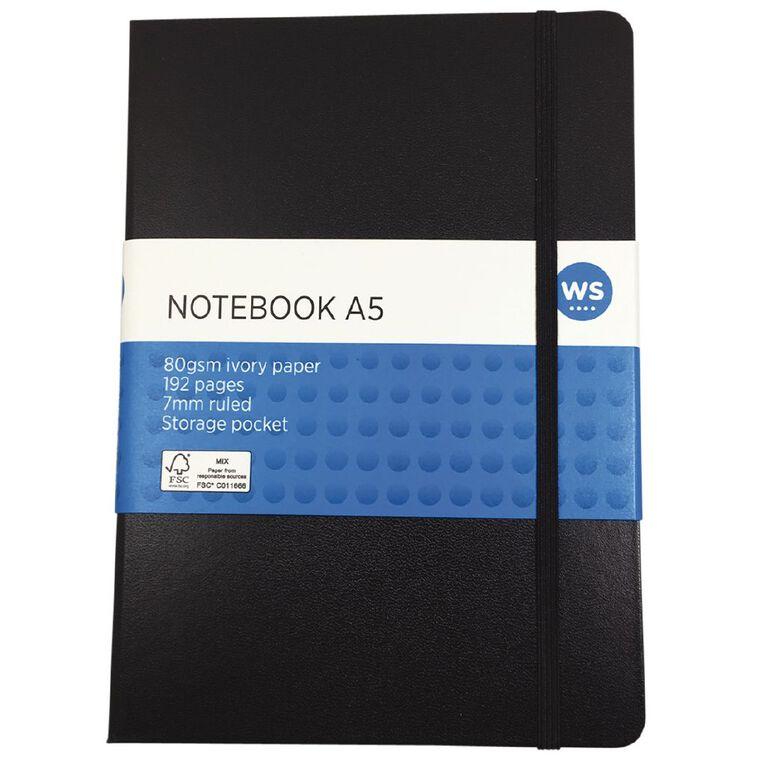 WS Journal Pu Black A5, , hi-res