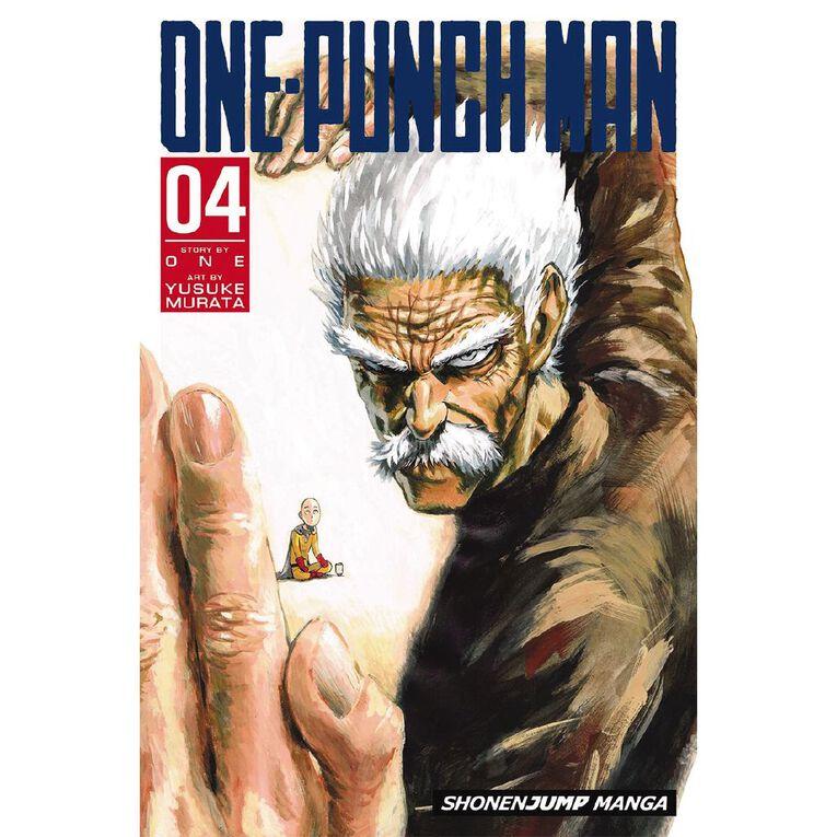 One-Punch Man Vol #4 by Yusuke Murata, , hi-res