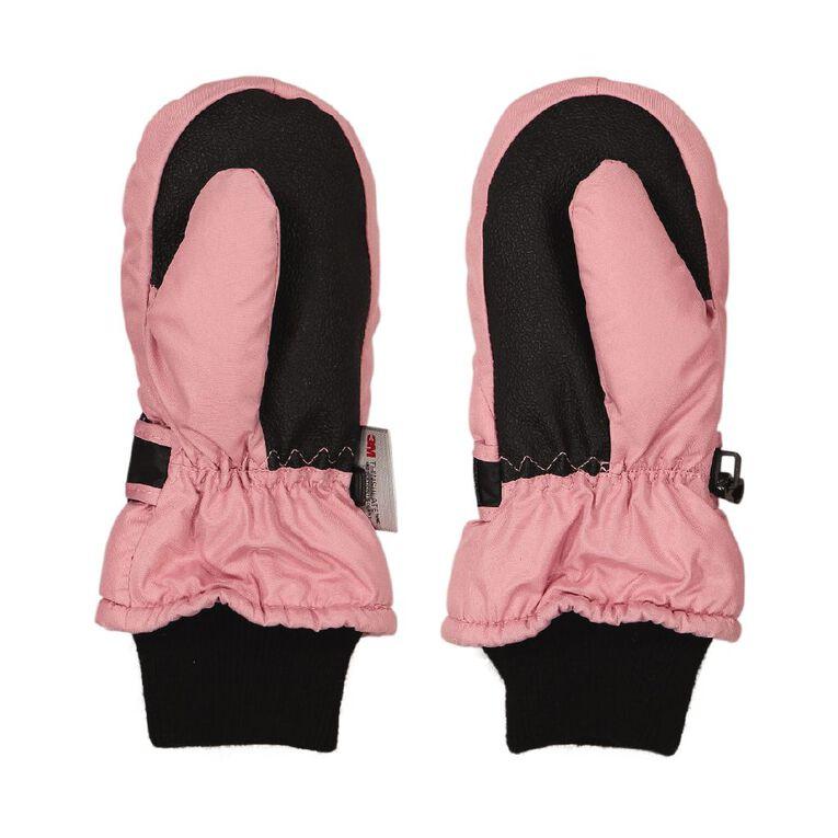 Young Original Kids' Ski Mitten, Pink, hi-res