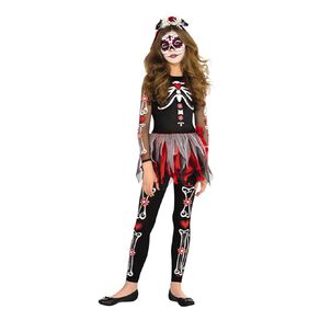 Amscan Scared to the Bone Costume 5-7 Years