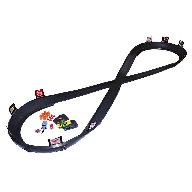 Crash Racers Figure 8 Circuit Track Set, , hi-res