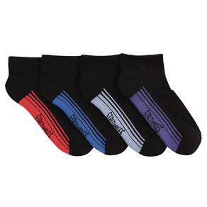 Rio Men's Low Cut Stretchable Socks 4 Pack