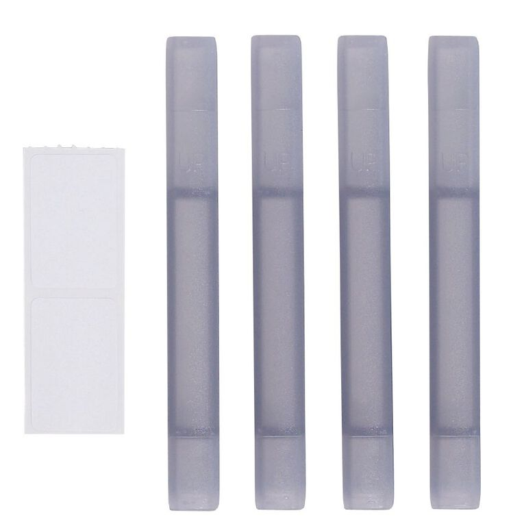 Bic Letter Tray 4 Pack Stacker White, , hi-res