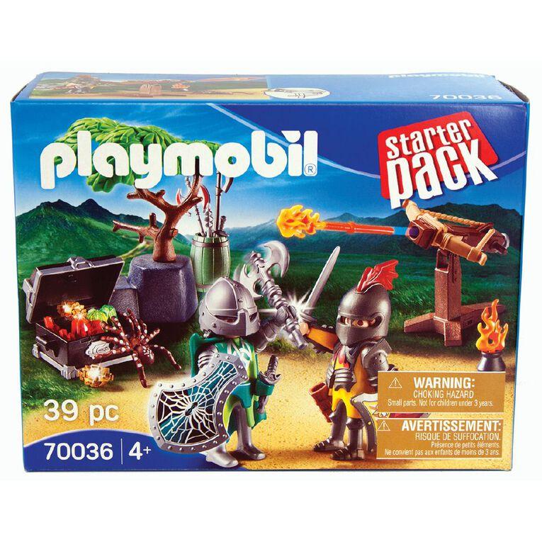 Playmobil Starter Pack Knight's Treasure Battle, , hi-res