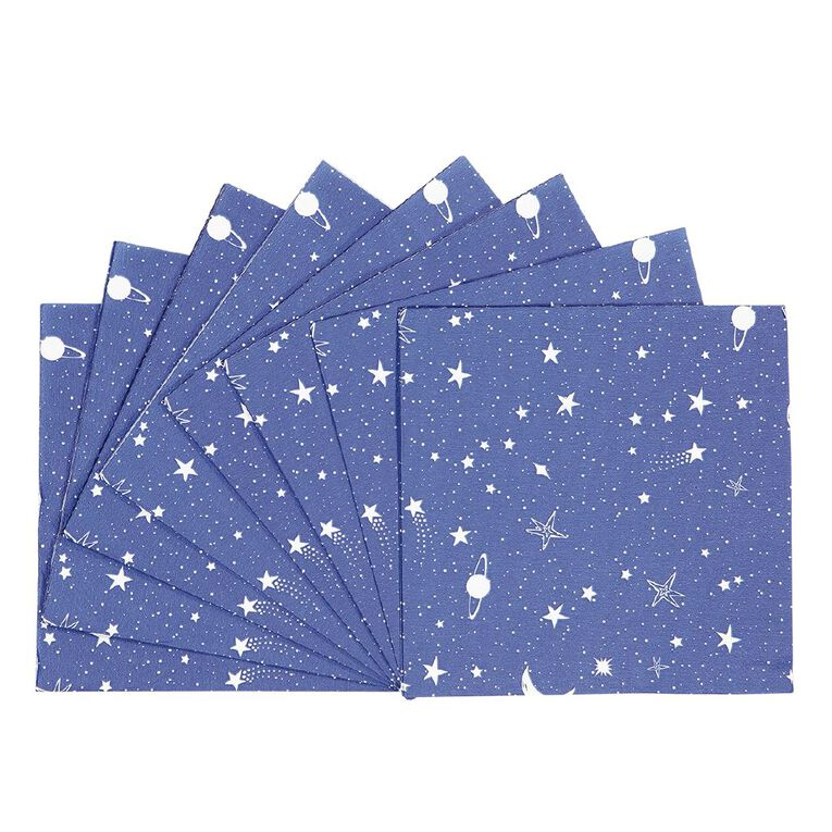 Party Inc Star Napkins 2 Ply 33cm 20 Pack, , hi-res image number null