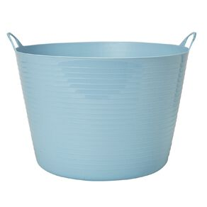 Living & Co Round Flexi Tub Blue 60L