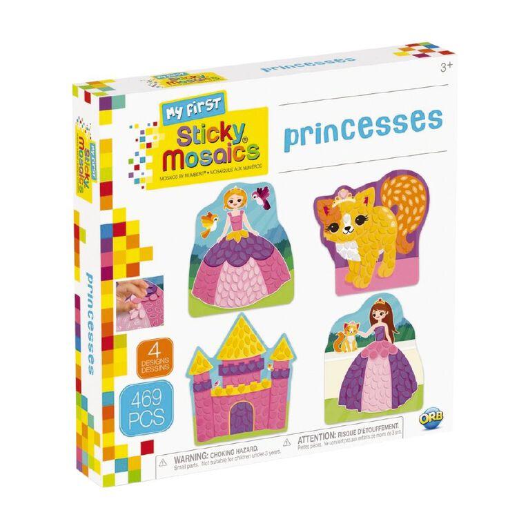 My First Sticky Mosaics Princesses, , hi-res