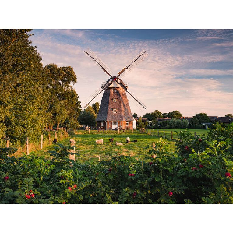 Ravensburger Windmill on the Baltic Sea 1500 Piece Puzzle, , hi-res