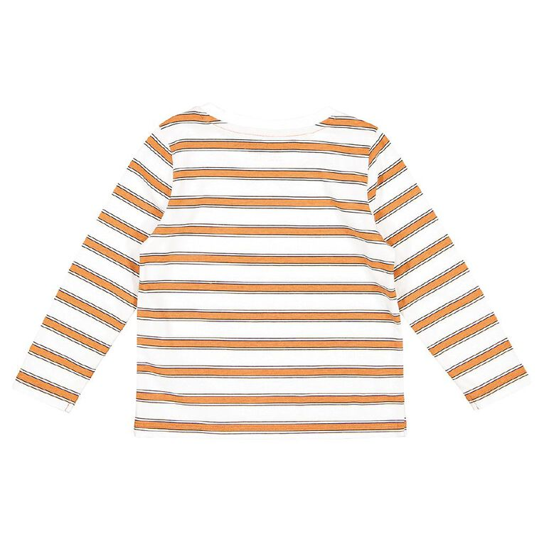 Young Original Toddler Long Sleeve All Over Print Tee, White STRIPE, hi-res
