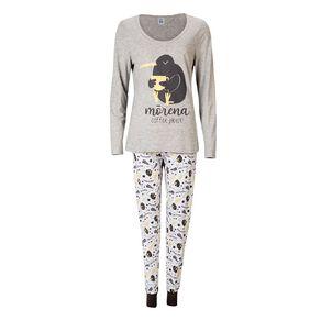 H&H Women's Long Sleeves Pyjama Set