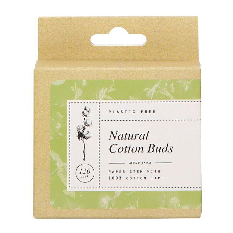 Cotton Buds Paper Stem 120 Pack, , hi-res