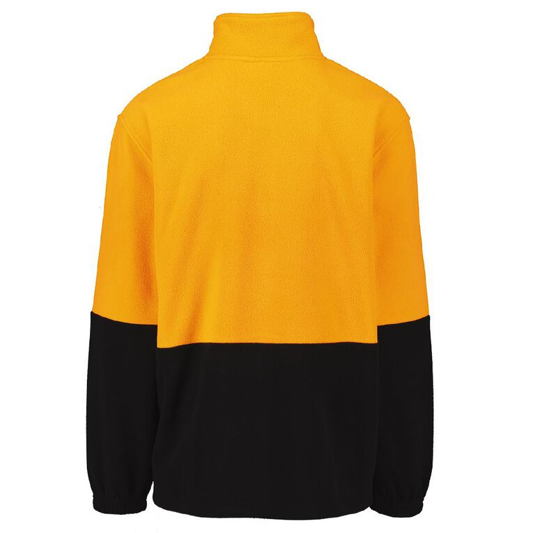 Rivet 1/4 Zip High Visibility Day Compliant Sweatshirt, Orange, hi-res image number null