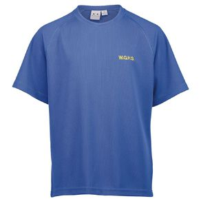 Schooltex Whangarei Girls' High Sport Tee with Embroidery