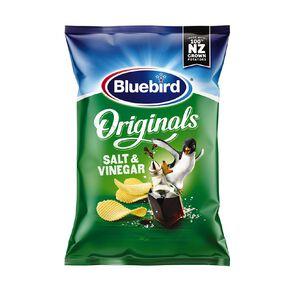 Bluebird Original Cut Salt and Vinegar 150g