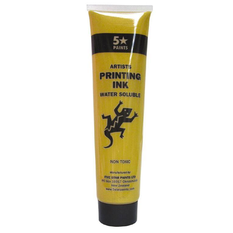 Fivestar Artists Water Based Ink Pale Gold 115 ml Tube, , hi-res
