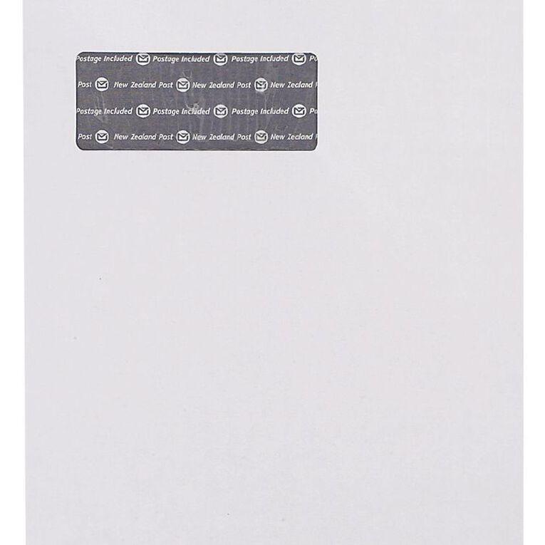 New Zealand Post C4 Envelope Prepaid Window 250 Pack, , hi-res