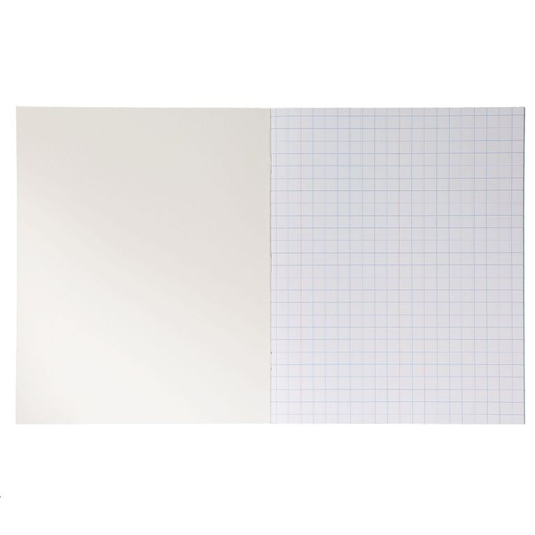 WS Exercise Book 1H5 With Margins 36 Leaf White, , hi-res