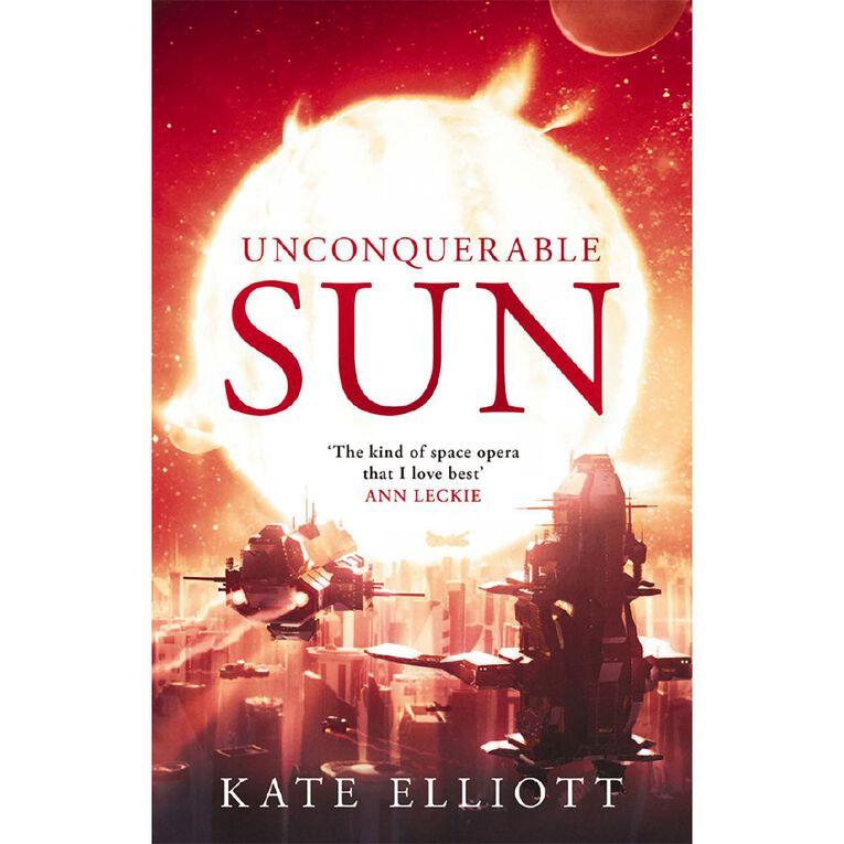 Unconquerable Sun by Kate Elliott N/A, , hi-res