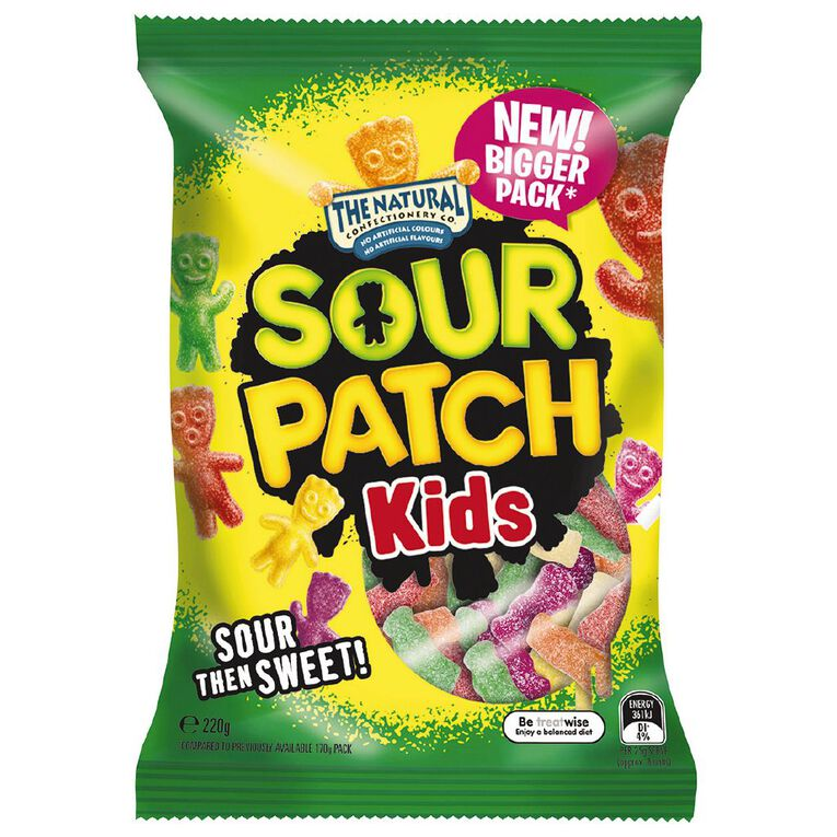 The Natural Confectionery Co. Sour Patch Kids 220g, , hi-res