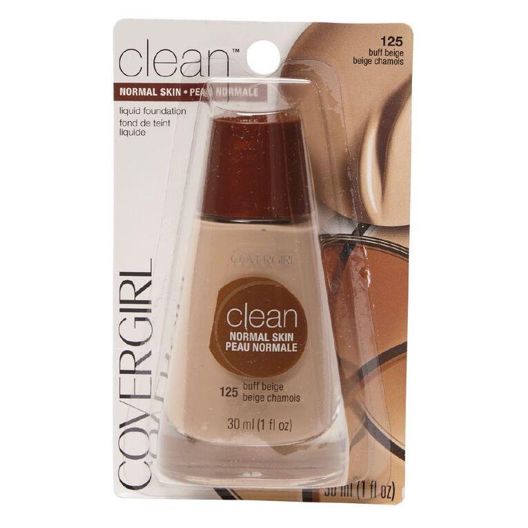 Covergirl Clean Liquid Makeup Buff Beige 525 30ml, , hi-res
