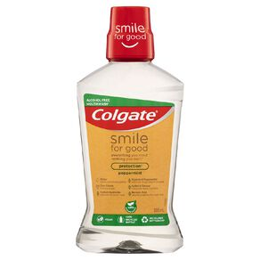 Colgate Smile for Good Alcohol Free Mouthwash 500ml