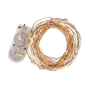 Living & Co Twinkle Light Warm White LED Copper 5m