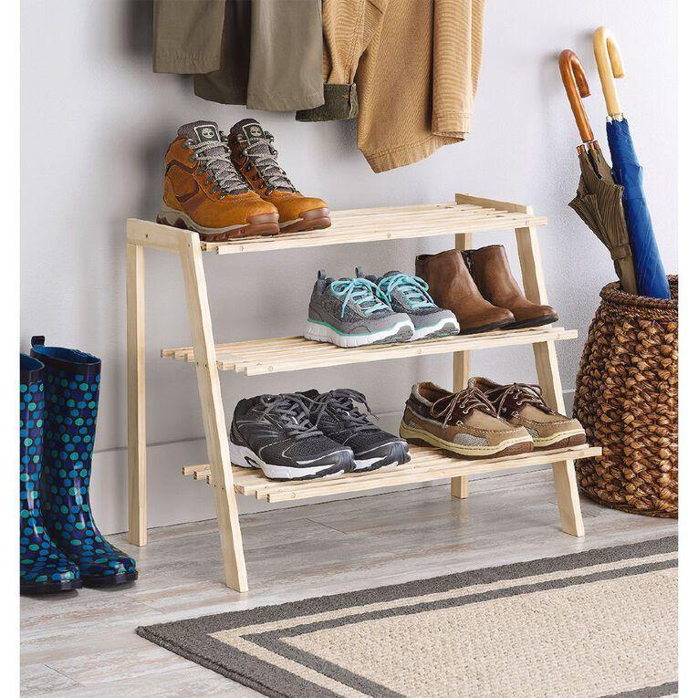Wood Shoe Shelf, , hi-res